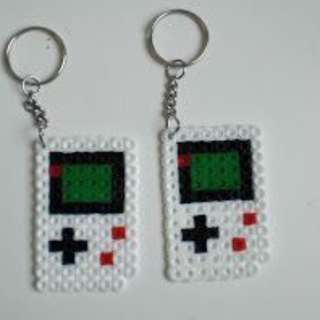 Gameboy Keychain Hama bead designs