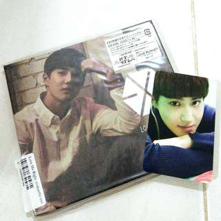EXO SUHO ROMANTIC UNIVERSE LOVE ME RIGHT ALBUM+PHOTOCARD+POSTCARD