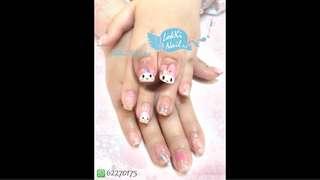 (大埔) LokKi Nail Art 專業美甲Gel甲服務