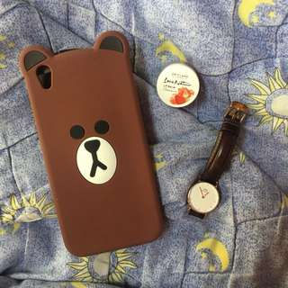 Case BROWN LINE OPPO F1 Plus