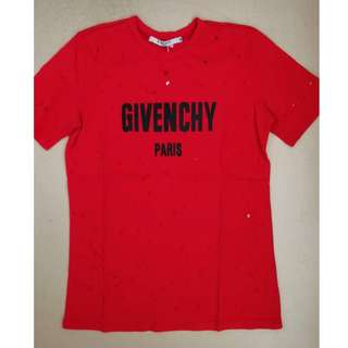 Givenchy Cotton T-shirt. 4 colours available.