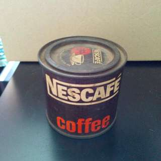 Mini Nescafe Coffee Tin Vintage 1