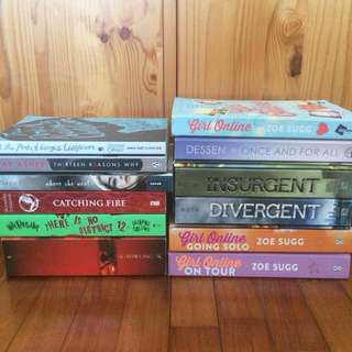 [Prices Decreased] Young Adult/YA Books