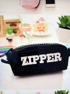 Big zipper pencil case