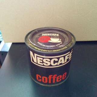 Mini Nescafe Coffee Tin Vintage 2