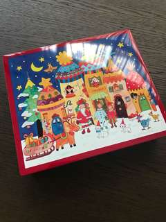 BN perfect Japanese Christmas cookie tin