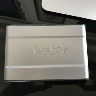 Maxtor external drive 100gb