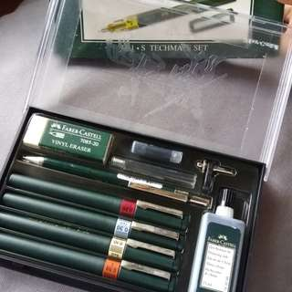 Faber-Castell 4 Technical Pens