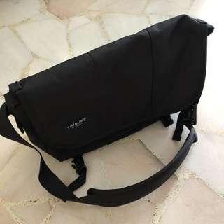 TIMBUK2 Classic Messenger Bag - Jet Black, Cordura