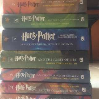 Novel Harry Potter Hard Cover Gramedia