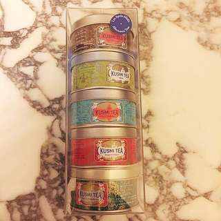Set of 5 boxes of Kumsi Tea *Made in France