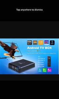 [LIMITED STOCKS] BNIB K1 Plus Android TV box for streaming