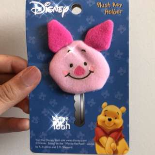 迪士尼熊熊維尼鑰匙套吊飾