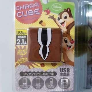 日本制式USB充電插頭