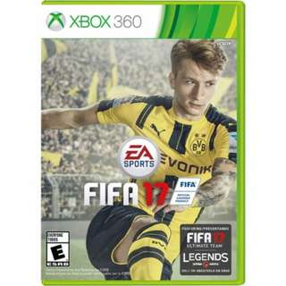 BUYING Pre-owned FIFA 17 XBOX 360