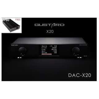 Special Bundle - Gustard X20u DAC (FREE Topping TP60 High power Amplifier)