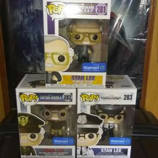 (ON HAND) Stan Lee Cameo Marvel Funko Pop Bundle