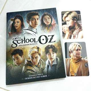 EXO SUHO XIUMIN SCHOOL OZ UNSEALED ALBUM PHOTOCARD