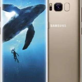 Samsung s8 plus gold