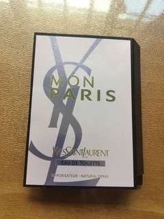YSL MON PARIS EAU DE TOILETTE 1.2ml sample