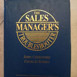 Sales Manager Troubleshooter