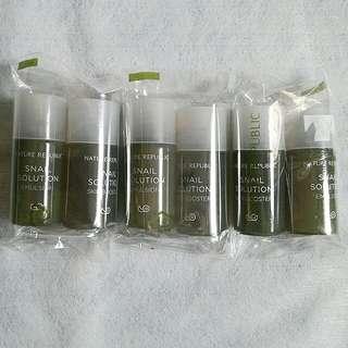 Nature Republic Snail Solution Emulsion & Skin Booster