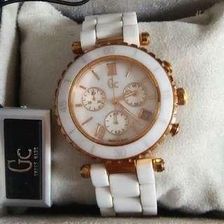Preloved jam tangan guess collection - GC