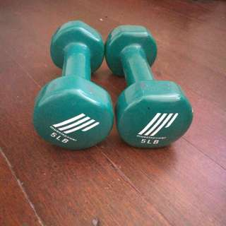 Dumbbell 5lb for a pair