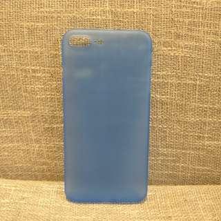 Blue Translucent Gel Casing for iPhone 7 Plus and iPhone 8 Plus