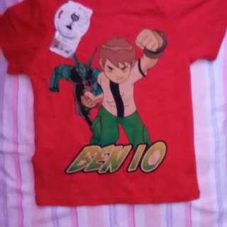Red ben ten tshirt