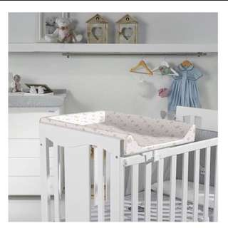 Micuna Baby Cot Diaper Station / Changing Pad