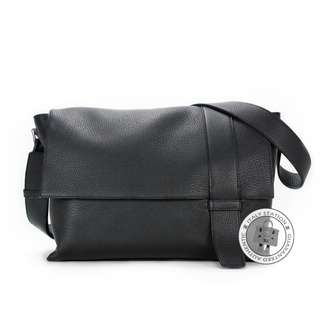 (NEW)Hermes ALFRED TAURILLON CLEMENCE MESSENGER BAG PHW, BLACK / CK89 全新 黑色 手袋 銀扣
