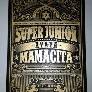 Preloved Album Super Junior - Mamacita