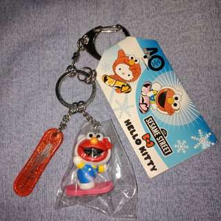 Elmo Hello kitty key chain/holder