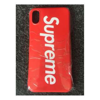 Supreme Case Cover Casing Iphone X, Ten, 10