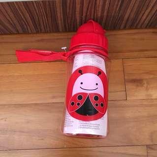 Skip Hop red water bottle