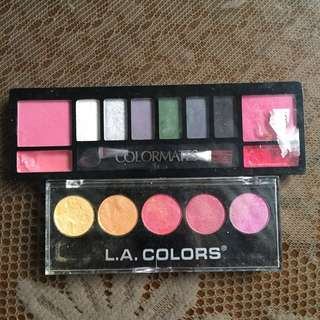 Eyeshadow with lipcream