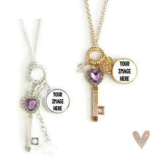 Customized Key Necklaces