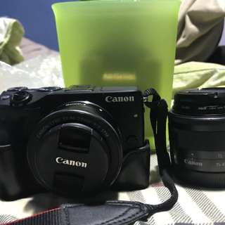 Canon EOS M3 | comes with 2 LENSES