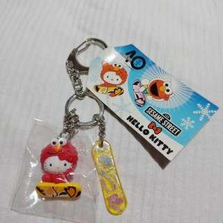 Hello Kitty/ Elmo key chain/holder