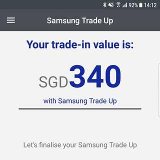 Samsung S7 Edge [Used] + Samsung VR