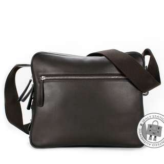 (NEW)Hermes HEBDO REPOTER EVERGRAIN MESSENGER BAG PHW, EBENE / CK46 全新 手袋 黑色 銀扣