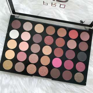 Socialite 35 Pro HD Amplified Eyeshadow Palette by Makeup Revolution