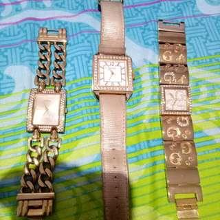 Guess Watch. Authentic & Mulus, Jarang Dipakai