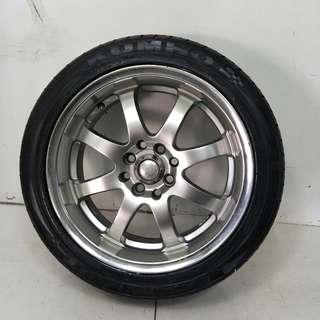 16 '' Sport Rim With Tyre 4x100 4x114.3 (SR989)
