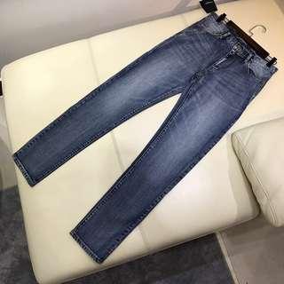 YSL新款男裝牛仔褲
