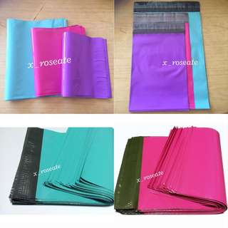 🌟Instocks ‼️ Turquoise ; Pink ; Purple Glossy Polymailers