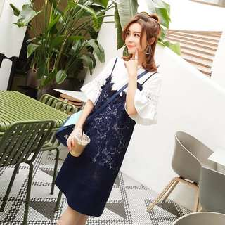 2pcs Lace dress
