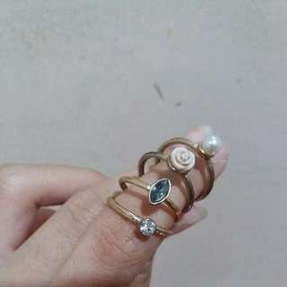 F21 rings (All for 150)