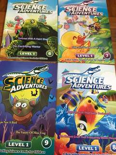 Science Adventures Level1